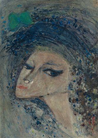 (Korea) Woman by Chun Kyung-ja (1924-2015).