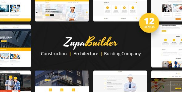 ZupaBuilder - Construction, Architecture, Building Company