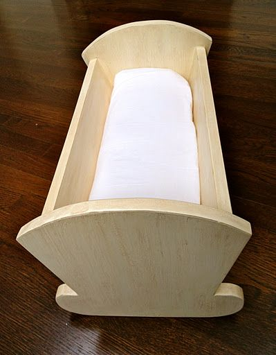 Ana White | Build a Vintage Doll Cradle | Free and Easy DIY Project and Furniture Plans I NEED THIS!