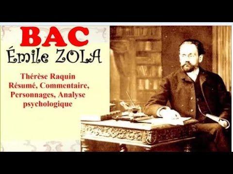 BAC - Thérèse Raquin, Émile Zola, Résumé, Commentaire, Personnages, Analyse, Livres audio - YouTube