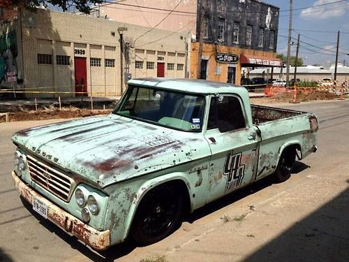 I can't tell you what I'd give to have an old pickup like this. Especially with everything underneath being brand new!