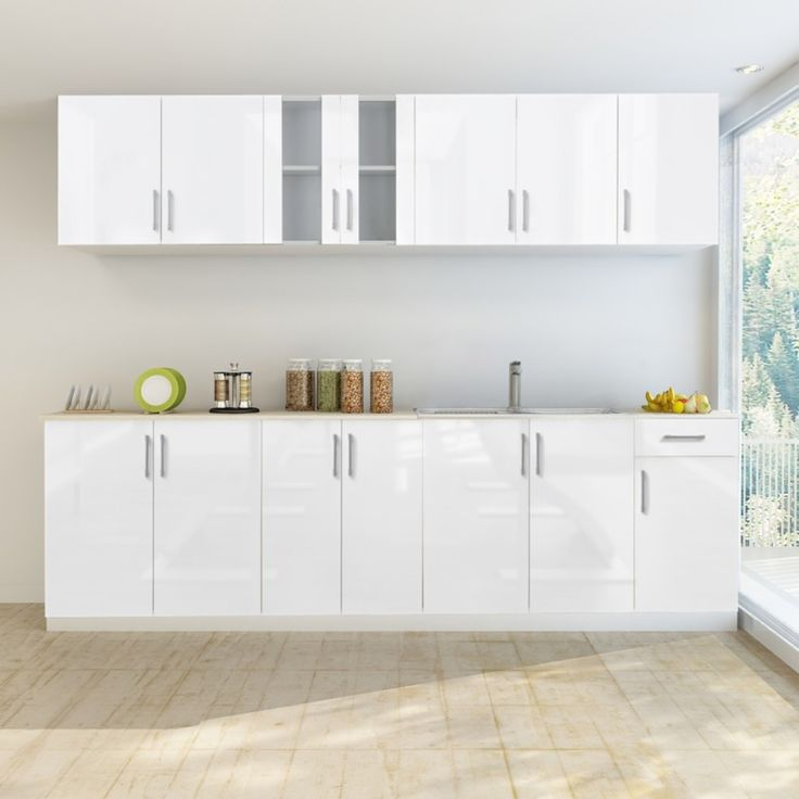 Gloss White Kitchen Cabinets: 1000+ Ideas About High Gloss Kitchen Cabinets On Pinterest