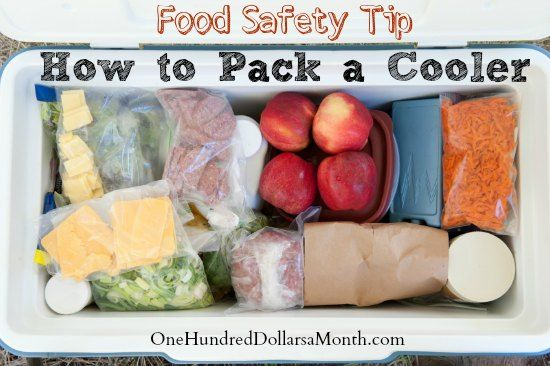 If you are headed into the great outdoors this summer, food in hand, packing a cooler is an essential must.  Packing it so that your food st...