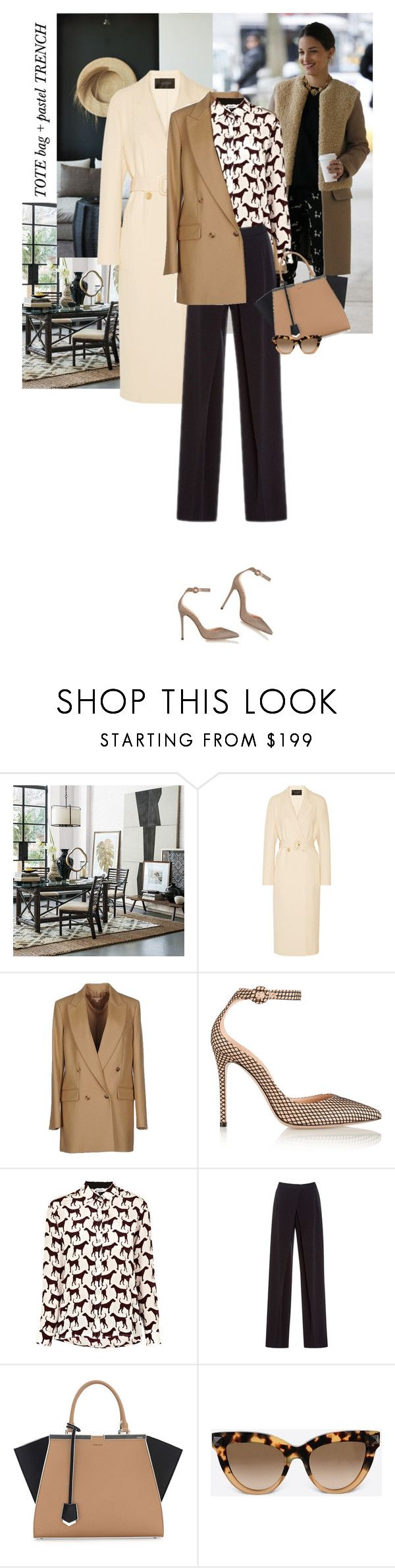 """""""Only do what your heart tells you. Princess Diana"""" by hil4ry ❤ liked on Polyvore featuring Williams-Sonoma, Calvin Klein Collection, Michael Kors, Gianvito Rossi, Mercy Delta, Alberta Ferretti, Fendi, Valentino, women's clothing and women's fashion"""