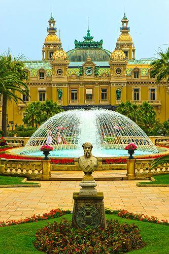 monte carlo casino garden, Monaco
