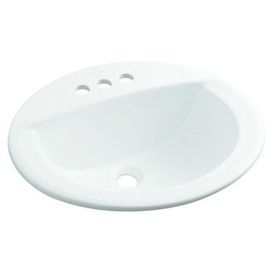 Sterling by Kohler Elliot Centerset Self-Rimming Bathroom Sink