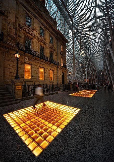 Allen Lambert Galleria, Brookfield Place, Toronto