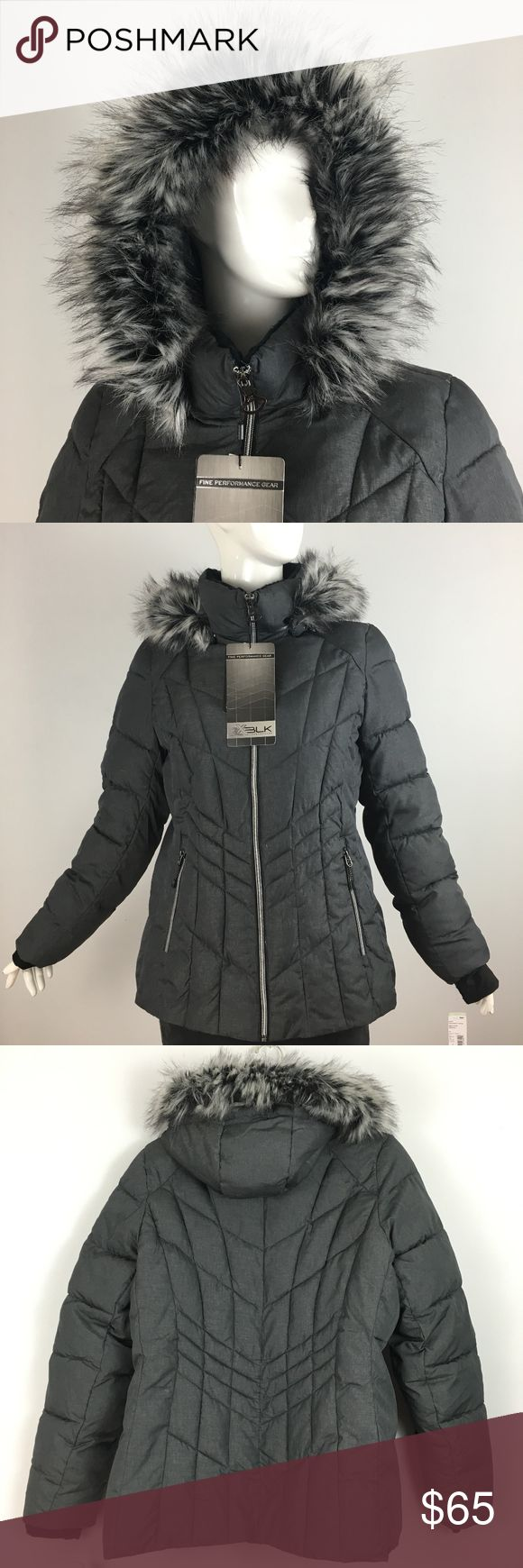 Zeroxposur ZXBLK Thermo Cloud Snorkel Coat NWT, L Zeroxposur Heavy weight puffer coat  with removable hood with plush faux fur trim and zippered pockets. Water Repellent Lightweight, Thermal Efficient, Hypoallergenic, Moisture Resistant, Superior Warmth. Size Large. New with tags. jcpenney Jackets & Coats