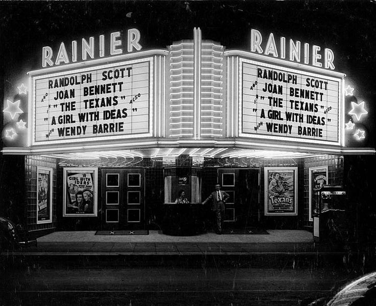 Movies About The 1920s: Old 1920's Movie Theatre
