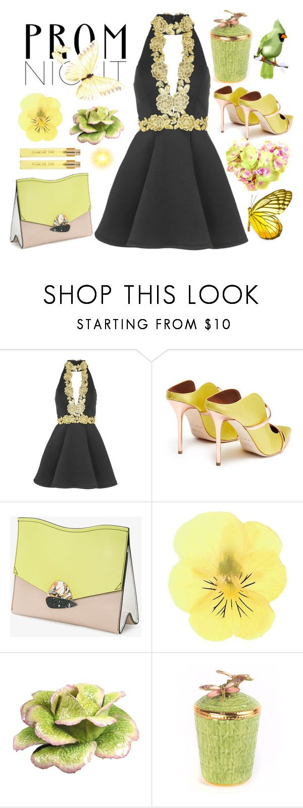 """Prom Night"" by bysc ❤ liked on Polyvore featuring Topshop, Malone Souliers, Proenza Schouler, Jay Strongwater and Perris Monte Carlo"
