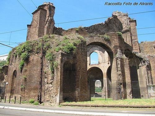 1896 FORMA URBIS ROMAE, Villa Magnani d, 2010 Tempio della Minerva Medica