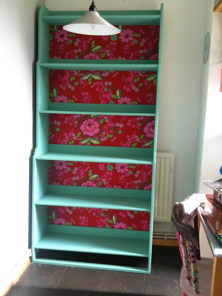 1000 images about crafts wallpaper on pinterest for Ikea backless bookcase