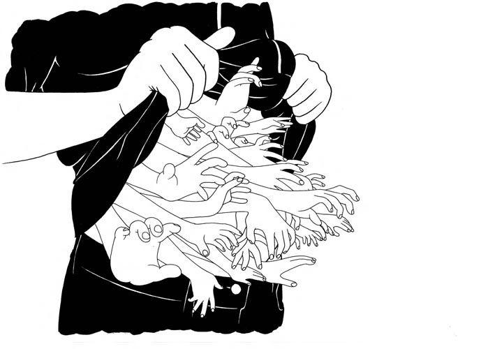 Line Art Illustration Style : 304 best hands images on pinterest graphics illustrators and a