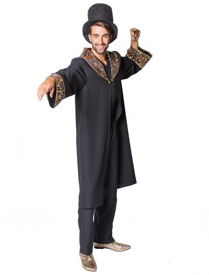 Mantel Zauberer Herren Schwarz Hier Kaufen Deiters Zauberer