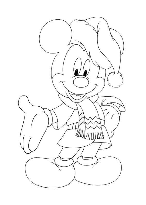 50 Disegni Di Natale Della Disney Da Colorare Disegni Da