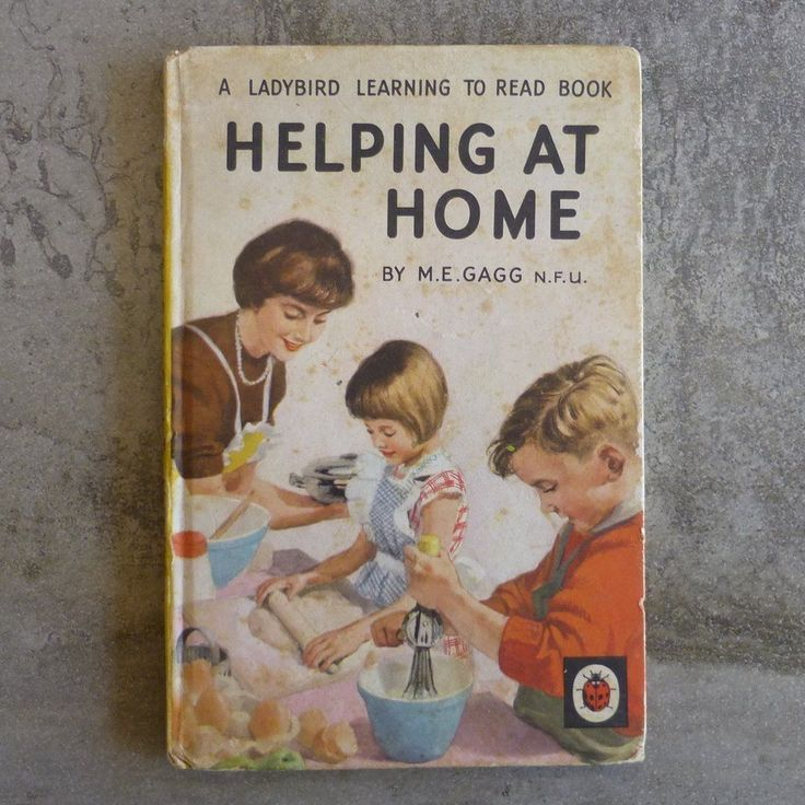 Vintage Ladybird Book. A Ladybird Learning to Read Book Helping At Home by M.E.Gagg N.F.U Series 563 No.8 in series. Printed 1961, England