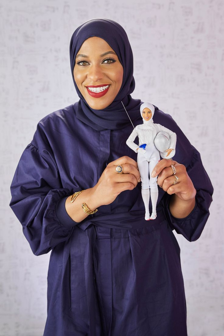 2017 Shero Hijab Barbie by Mattel - Mattel has launched a Barbie based on Olympic athlete N.J. fencer Ibtihaj Muhammad – the brand's first ever doll to come with its own hijab.