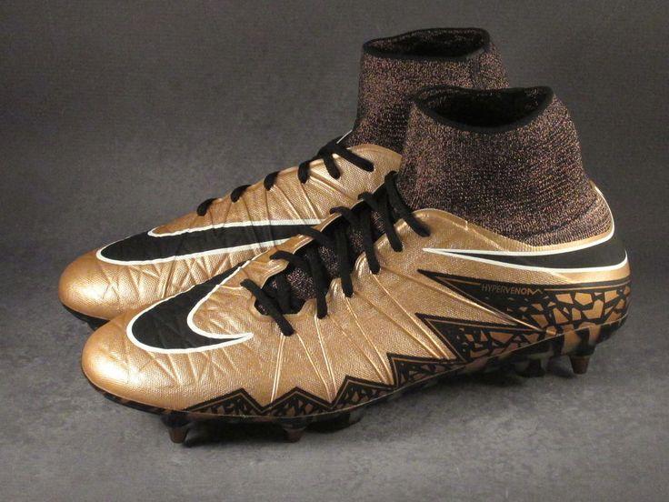 Men's Nike Hypervenom Phantom 2 SG-Pro Soccer Cleats Size 12 Bronze #Nike