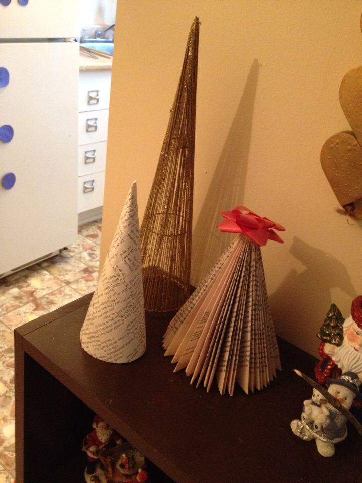 Story book christmas trees