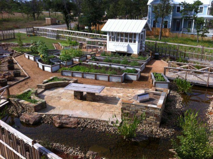 Have a community garden..