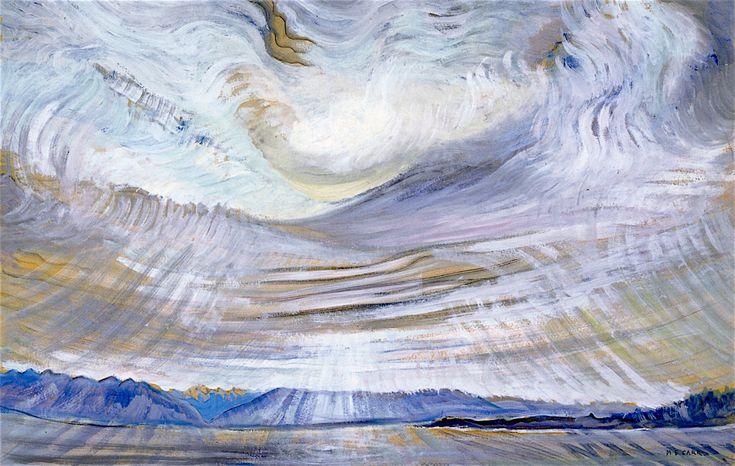 Sky 1935. Emily Carr