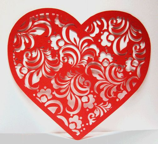 Paper Pulse Blog Spot: Valentine Lace Heart Freebies