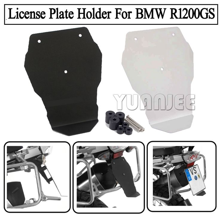 31.90$  Buy here  - Motorcycle Number Plate Splash Guard License Plate Holder Aluminium For BMW R1200GS LC 2013-2016, R1200GS Adventure LC 2014-2016