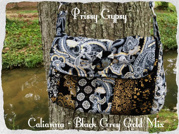 Calianna Black Grey Gold - Prissy Gypsy