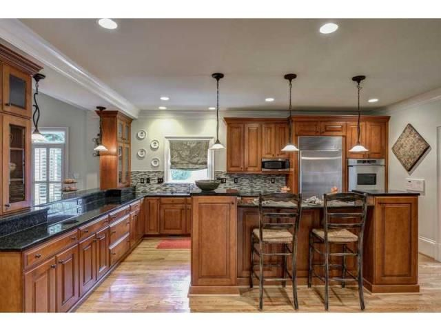 View the dining room of this beautiful home for some great remodeling ideas!  100 Strauss Lane, Atlanta, GA, 30350 -- Homes For Sale