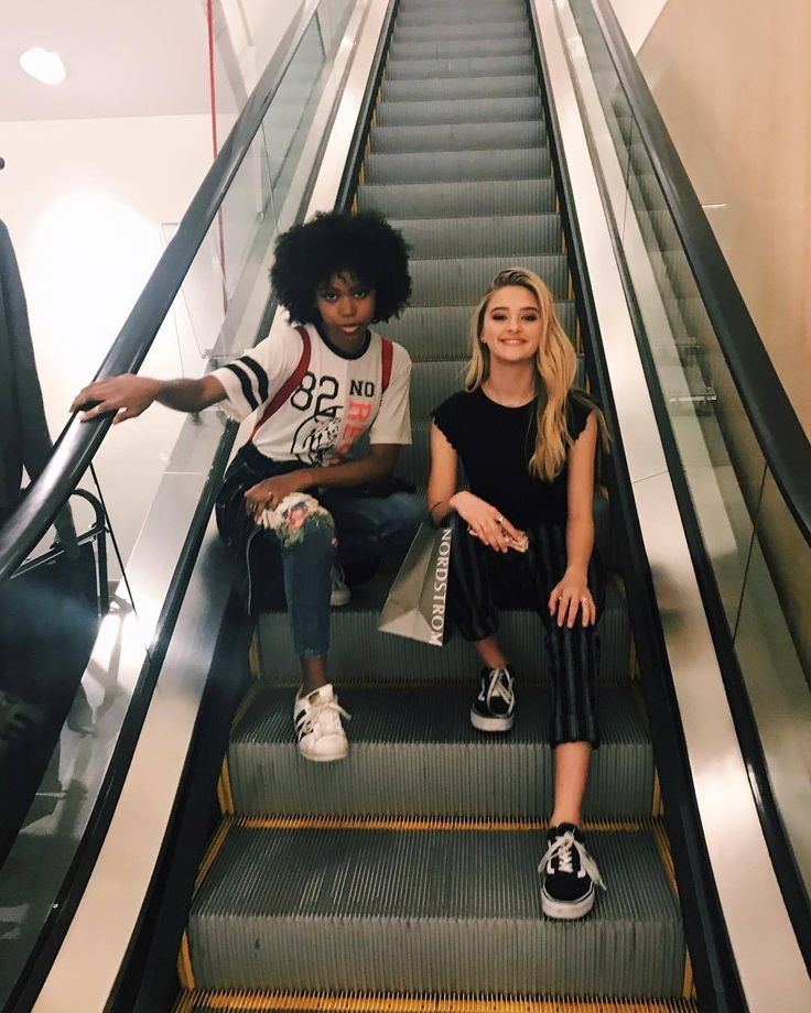 Riele Downs, Lizzy Greene: Staircase to Heaven (Instagram) – Just One girl