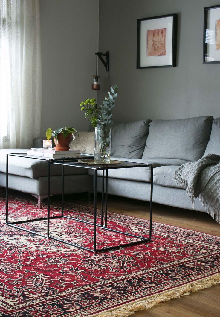 Persian style carpet.