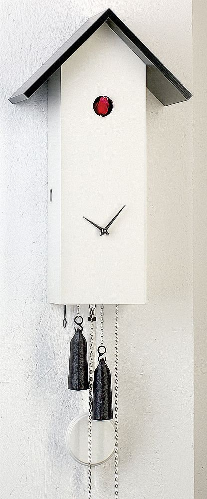Contemporary (Modern Art) Cuckoo Clock by Rombach and Haas #SL15-1