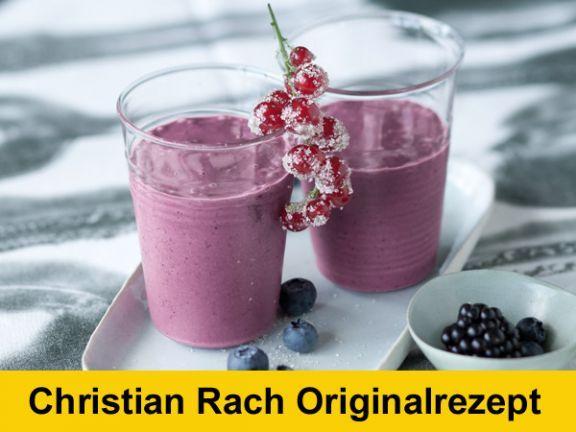 Hier finden Sie das exklusive Christian Rach Originalrezept: Beeren-Smoothie