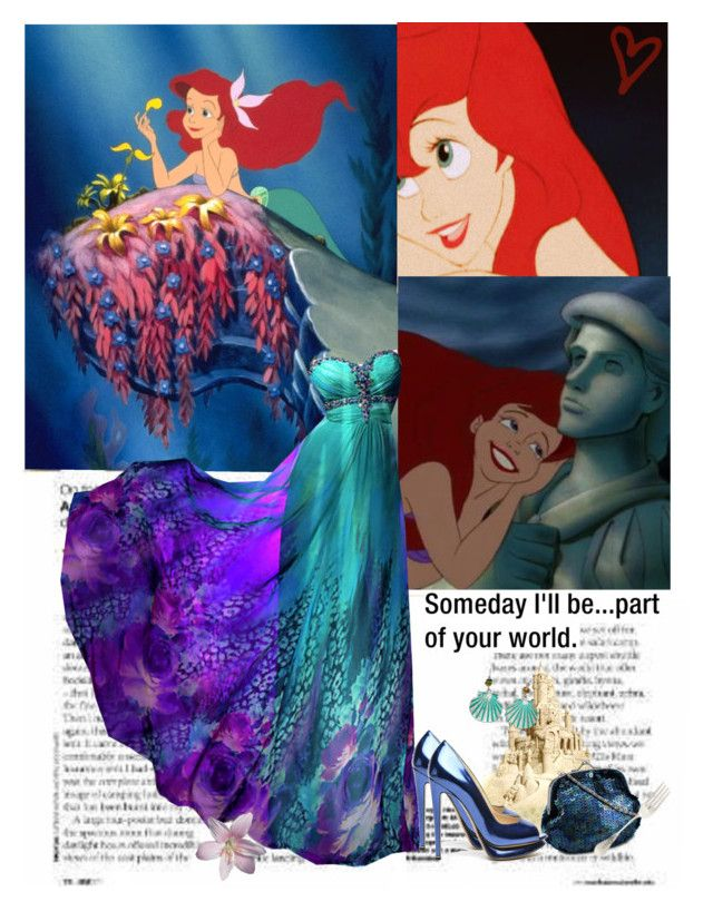 """Someday i'll be part of your world"" by priscilla12 ❤ liked on Polyvore featuring Nicholas Kirkwood and Croft & Barrow"