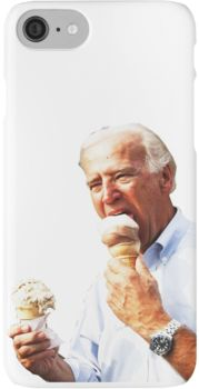 Joe Biden Eating Ice Cream iPhone 7 Cases