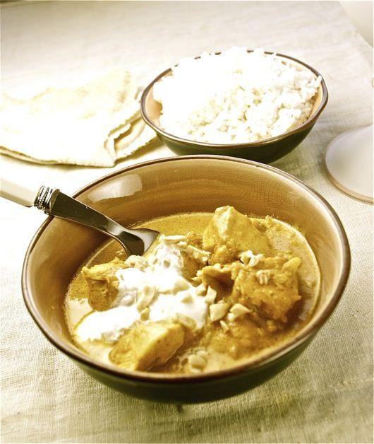 Korma de pollo, curry cremoso de la India con Thermomix « Thermomix en el mundo