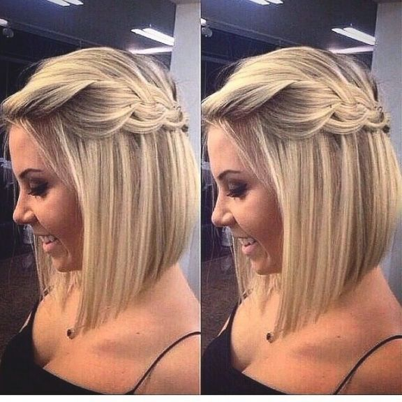 Trends Schone Frisuren Fur Mittellange Haare In Bezug Auf Die Besten 25 Hochsteckfrisuren Mittellanges Haa Hair Styles Short Hair Styles Braids For Short Hair
