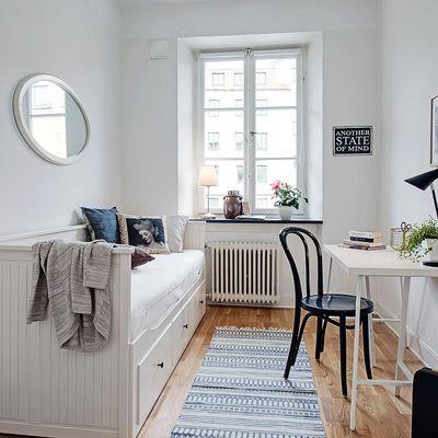Dormitorio juvenil #chic #nórdico #ideashabitissimo