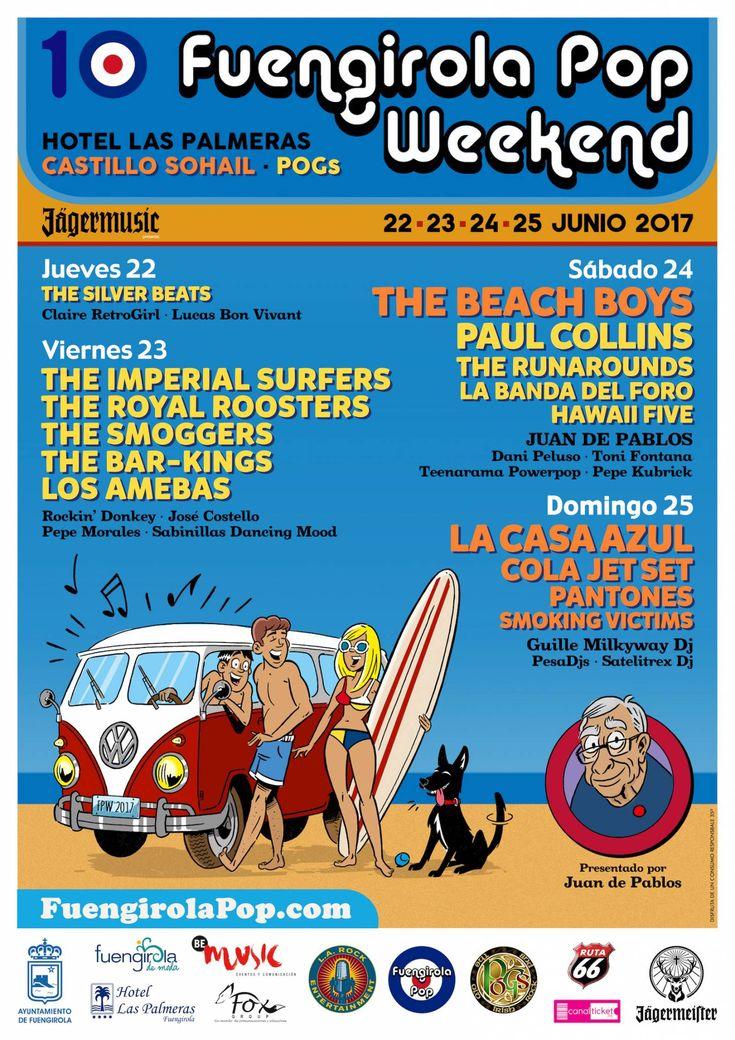 PROGRAMA Jueves 22 | Pogs | Fiesta de Bienvenida 23:00 The Silver Beats (Málaga) DJs Claire RetroGirl · Lucas Bon Vivant Entrada libre (hasta completar aforo) Viernes 23 | Pogs 22:00 Los Amebas (Mallorca) 23:00 The Bar-Kings (Sevilla) 00:00 The Smoggers (Sevilla) 01:00 The Royal Roosters (Madrid) 02:00 The Imperial Surfers (Madrid) 04:00 Allnighter |…