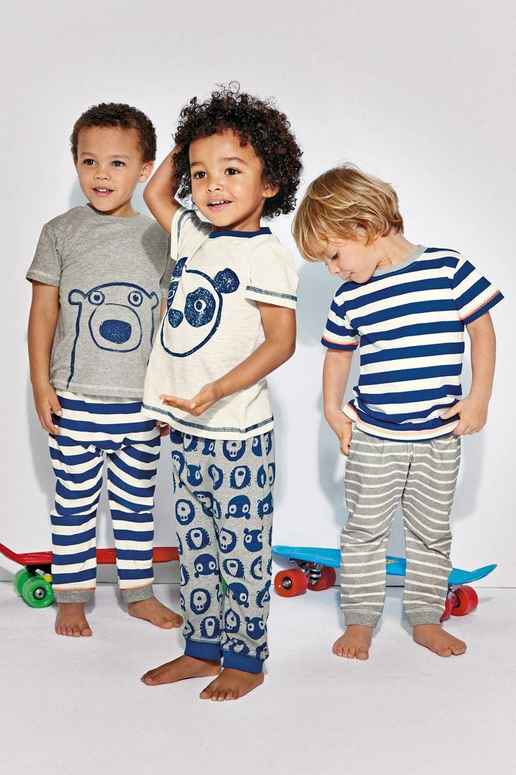 Buy Three Pack Bear/Panda Pyjamas (9mths-8yrs) from the Next UK online shop