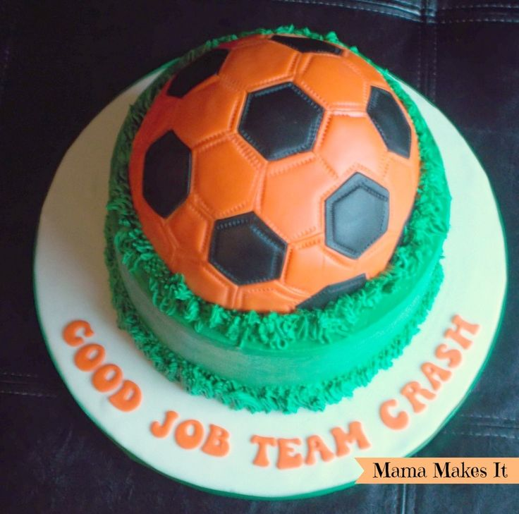 The 25 best Soccer ball cake ideas on Pinterest Soccer cake