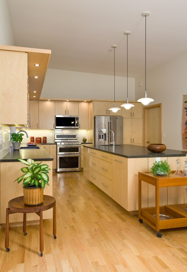 Natural Maple Kitchen Cabinets in 2020 | Maple kitchen ... on Natural Maple Cabinets  id=20954