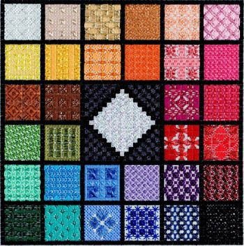 Twinkling Gems - Needlepoint Pattern  by Deb Bee's Designs - http://123stitch.com/item/Deb-Bees-Designs-Twinkling-Gems-Needlepoint-Pattern/13-1189