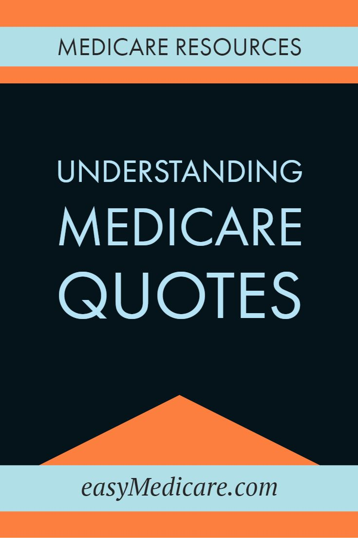 Looking For Medicare Quotes But Not Sure About All This Numbers