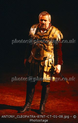 www.photostage.co.uk Anthony Hopkins Judy Dench Antony and Cleopatra
