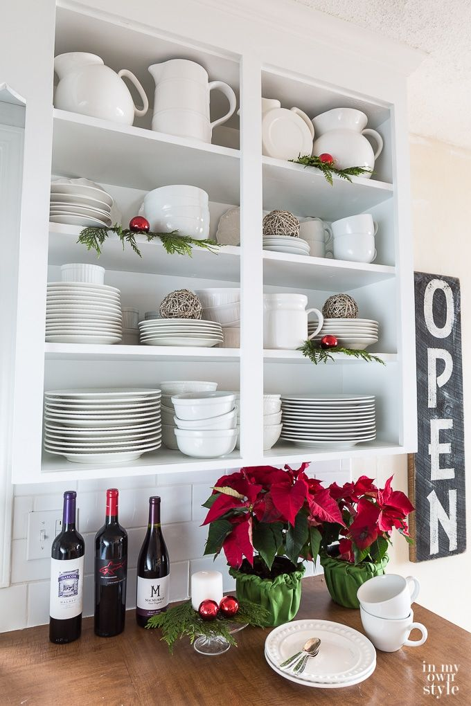 Christmas Decorating Ideas For Kitchen Shelves Kitchen Painting