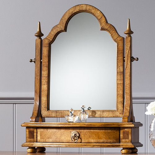 Found it at Wayfair.co.uk - Spire Arched Dressing Table Mirror