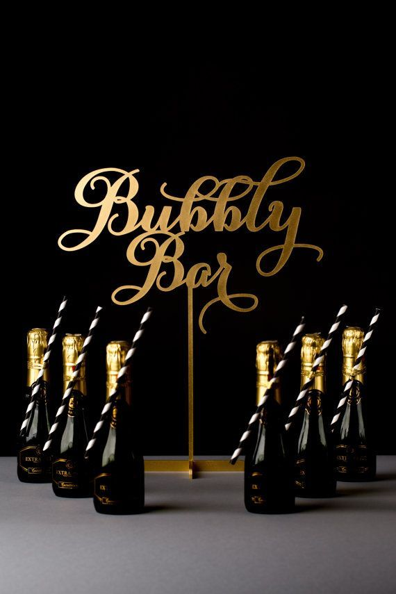 Bid this year adieu with a special champagne toast.