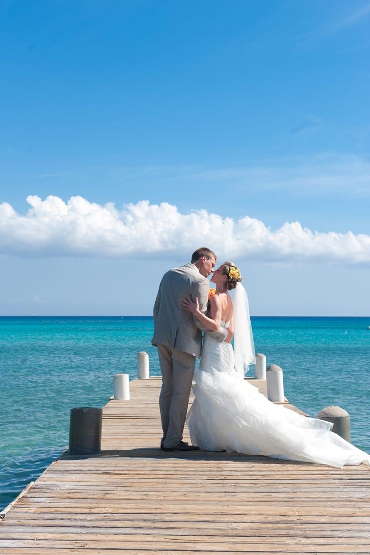 wood wedding card holders%0A Grand Cayman Wedding by Donna Von Bruening