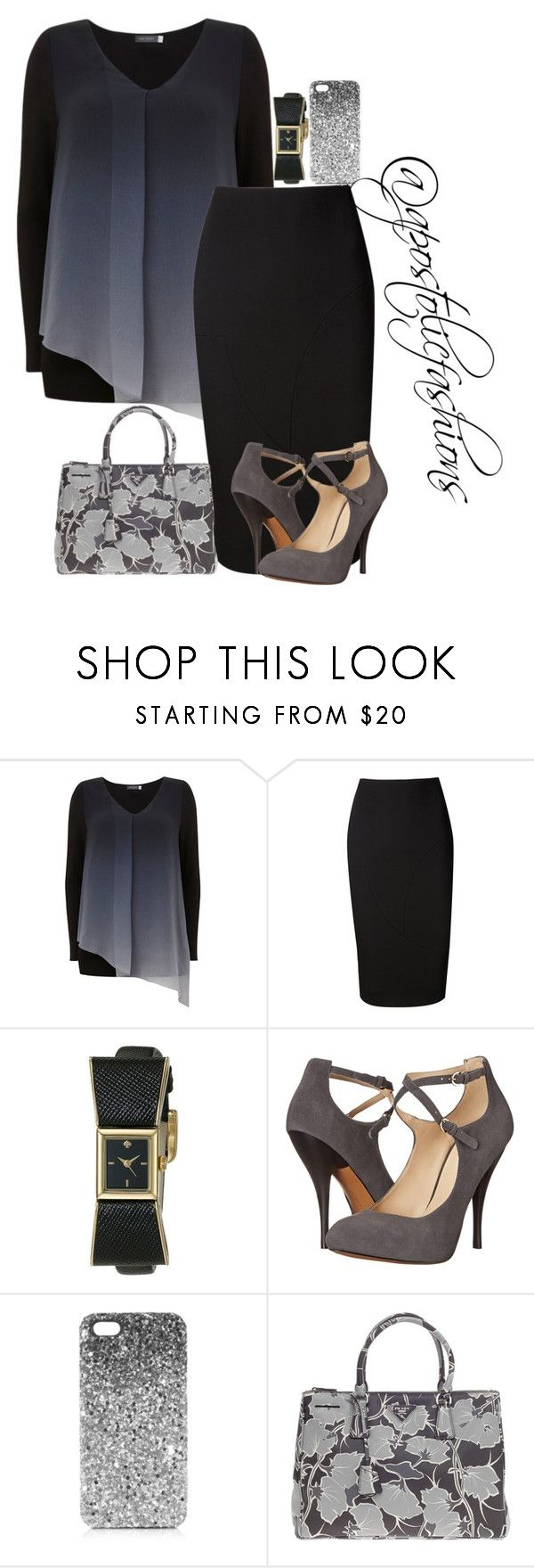 """Apostolic Fashions #1463"" by apostolicfashions ❤ liked on Polyvore featuring Mint Velvet, Victoria Beckham, Kate Spade, Nine West, Topshop, Prada, modestlykay and modestlywhit"